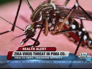 Pima County Health tracking Zika virus