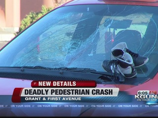 Pedestrian killed in early morning wreck