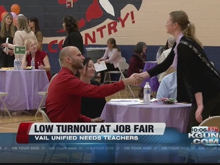 Low turnout at teacher job fair