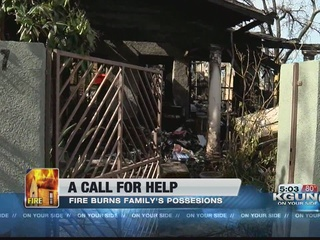 Family says they lost everything in house fire
