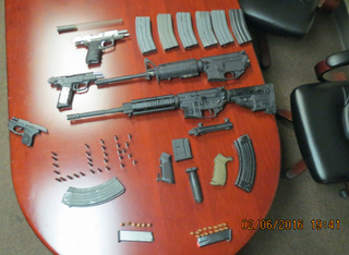 CBP seizes drugs, weapons in Lukeville