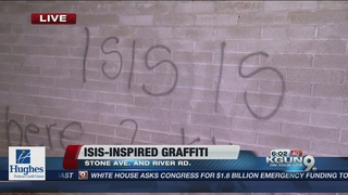 Hateful graffiti hits Tucson neighborhood