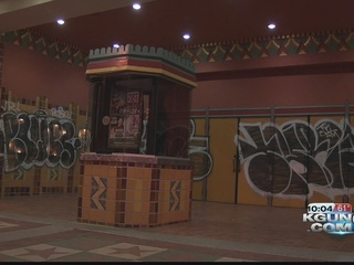PD arrests man for Fox Theatre graffiti