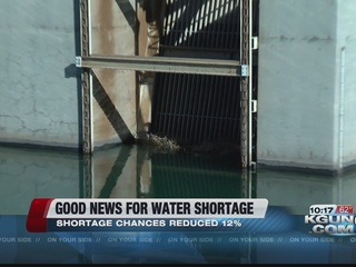 Snowfall reduces AZ's changes for water shortage