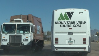 Taking a landfill tour---recycling too