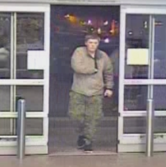 Stolen debit card used at local Walmart