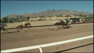 Horse racing is up and running again in Tucson