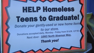 Paid internships for homeless, at-risk teens