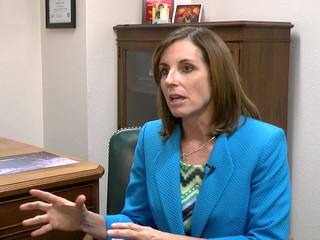 McSally won't support Trump... yet