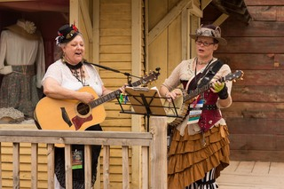 Steampunk and Wild West Con 2016 at Old Tucson