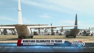 Boneyard at Davis-Monthan celebrates 70 years
