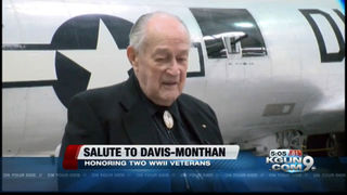 WWII veterans honored at Salute to Davis-Monthan