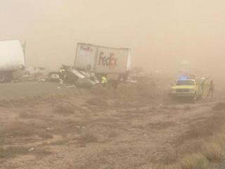 WB I-10 closed near AZ-NM state line