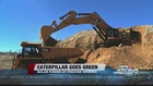 Caterpillar goes green with solar energy