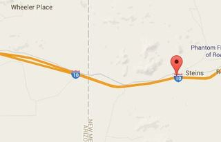 Westbound I-10 blocked near New Mexico