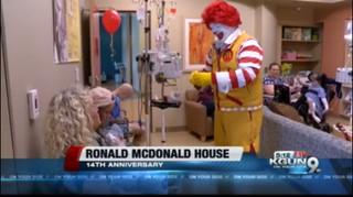 Ronald McDonald house 14th anniversary