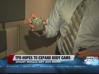 TPD hopes to expand body camera program