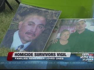 Homicide survivors remember loved ones
