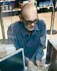 Tucson Police looking for bank robber