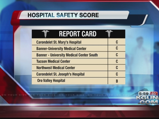 Check hospital safety scores online
