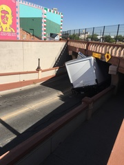 Stuck truck removed from Sixth Ave. Underpass