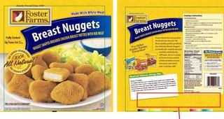 Foster Farms recalls chicken nuggets