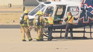 Disasters strike across Pima County---as a drill