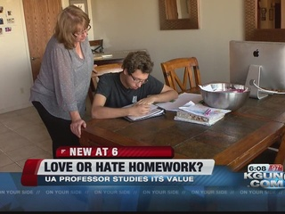 UA Professor: No homework through high school