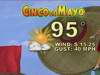 FORECAST: Hold onto your sombreros!