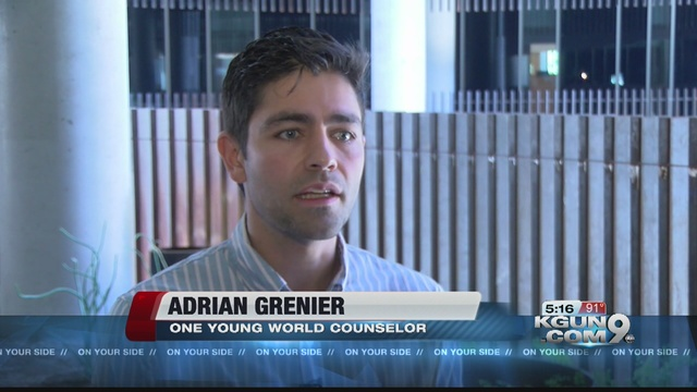 Entourage quot star speaks at environmental summit kgun9 com