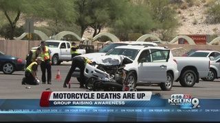 Motorcycle group tries to raise awareness