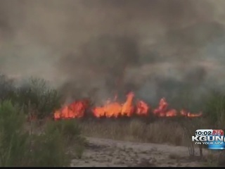 Wildfire season sparks in Southern Arizona