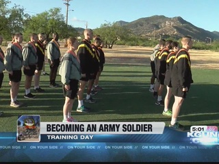 Day in the Life: 9OYS trains with Army soldiers