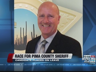 Candidate for PCSD Sheriff placed on leave