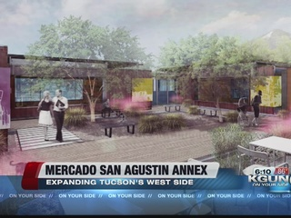 Mercado San Agustin adding new annex