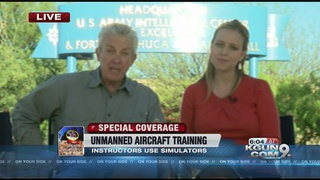 Ft. Huachuca explains unmanned aircraft training