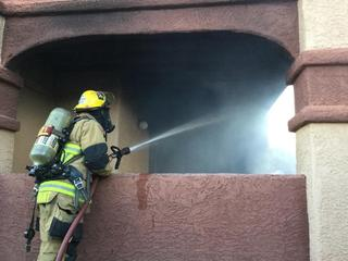 Woman loses home in eastside blaze