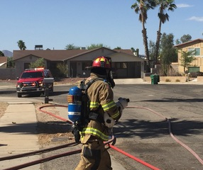 No injuries, 2 dogs safe in house fire