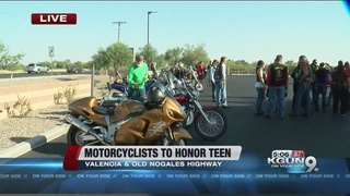 Motorcyclists gather to honor 18-year-old killed