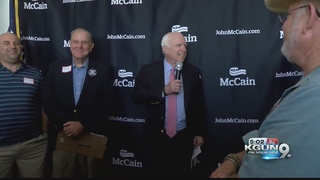 McCain opens new campaign headquarters in Tucson
