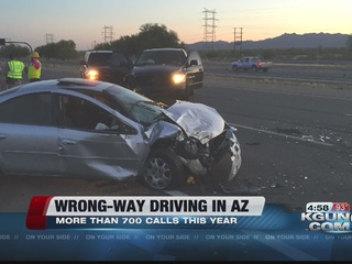 More than 700 calls to DPS for wrong-way drivers