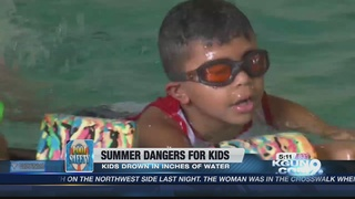 Keep your child from drowning this summer