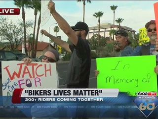 200+ motorcycle riders gather to raise awareness