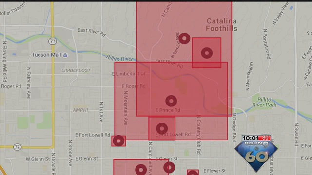 Now more than 20 000 customers without power across tucson kgun9