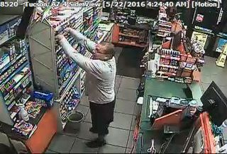 Police looking for cigarette thief