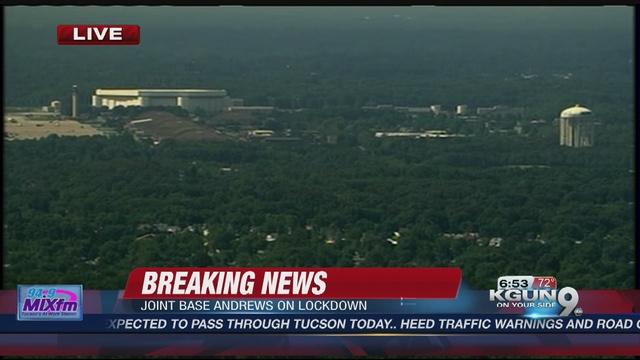 Maryland military facility locks down