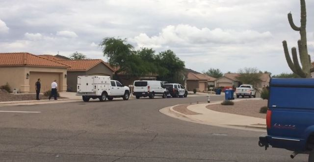 Bomb squad investigates Marana home after death