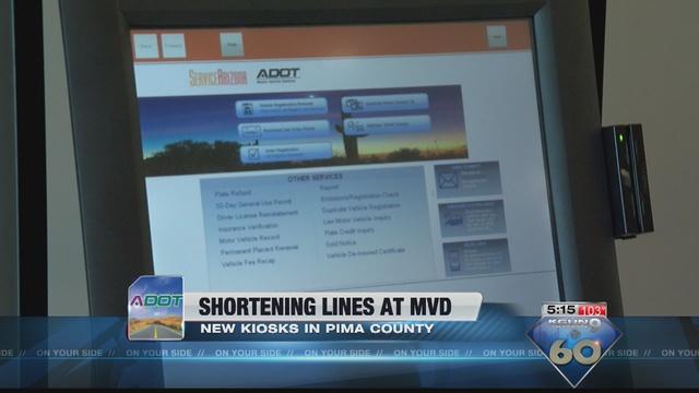 Courthouse Announces Kiosk For Mvd Services