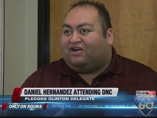 Local Tucson figure attending the Democratic Nat