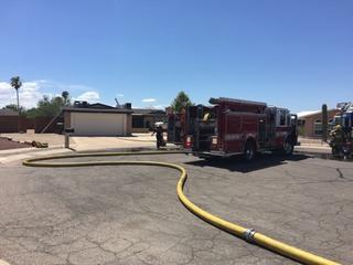 Crews responding to house fire on eastside